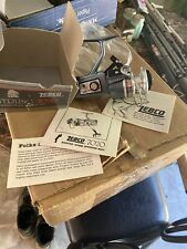 Vintage Zebco sterling 7020 spinning reel 1981 box and papers