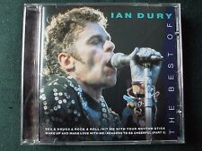 The Best Of Ian Dury CD.What A Waste,Sweet Gene Vincent,Sex & Drugs,Hit Me..EX/C