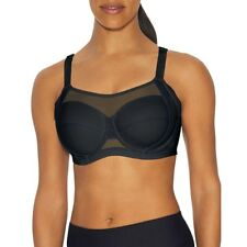 aa4308873de69 Champion The Smoother Sports Bra - Hanes 38 Black dark Nilas 38c