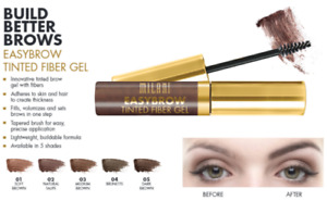 Milani EasyBrow 3-in-1 Tinted Fiber Brow Gel Soft Brown Brunette You Choose NEW