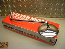 NUOVO/NEW ORIGINALI YAMAHA TX 750 RD 350 SPECCHIETTO RETROVISORE SPECCHIETTO CROMATO R CHROMED MIRROR