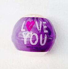 1 Bath & Body Works LOVE YOU - PINK PEONIES Bath Tub Fizz Bomb Fizzy Ball Sphere
