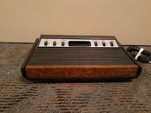 ATARI 2600 SEARS TELE-GAMES HEAVY SIXER ▪︎ CONSOLE ONLY ▪︎ WORKS ▪︎