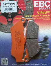 EBC/FA209/2V Semi-Sintered Brake Pads (Rear) BMW R1200GS '13>, R1200RT '14> (LC)