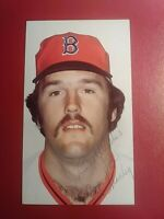 Bob Stanley Boston Red Sox 1980s Autograph Signed Photo