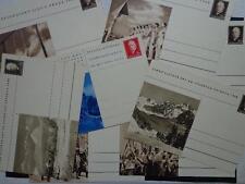 Czechoslovakia Praha 1948  Postal Cacheted  Cards Prapor Prvn Verni 10 Cards !!