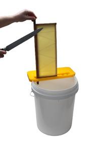 Honey Frame Extraction Holder