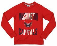 Outerstuff NHL Youth/Kids Washington Capitals Performance Fleece Sweatshirt