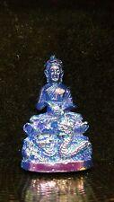 Thai amulet Phra Bua Khem Upagupta 1st Batch leklei rainbow Lp. Leng Super lucky