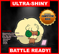 Pokemon Sword/Shield Ultra Shiny Battle Ready Whimsicott FAST DELIVERY