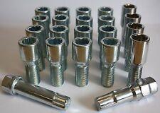 16 x M14X1.5 in Lega Slimeline Tuner Ruota Bulloni + serrature si adattano VW Golf MK4