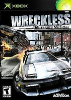 Wreckless: The Yakuza Missions (Microsoft Xbox, 2002) x box video game car cib
