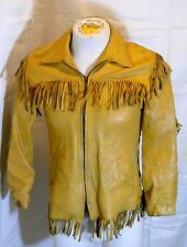LAND N LAKES VINTAGE WESTERN FRINGE JACKET WOMANS MEDIUM SAINT PAUL