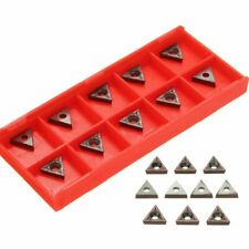 Carbide Inserts Lathe Turning Tools Thread Replacement Workholding 10pcs