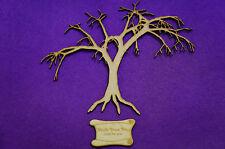 Halloween, Scary, Winter Tree 200x170mm Craft Embellishment MDF Laser cut wooden