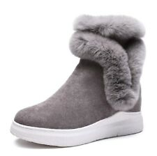 Baronero Snow Boots for Women Wedge Winter Warm Faux Fur Ankle Boots UK 7 /EU 40