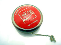 Vintage Coca Cola Coke Soda Russell Super Yo Yo Toy Philippines Red Clear