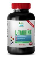 muscle builder supplements - L-TAURINE 500MG 1B - taurine and caffeine