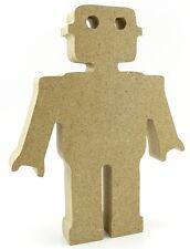 18mm MDF non associate Robot-IDEALE Baby Regalo-Craft Forma VUOTO taglio CNC