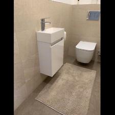 Waschbecken mit Unterschrank Waschtisch Badmöbel Set 3 Farben 40.5*22.5*55cm