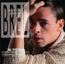 NEW~Quinze Ans d'Amour by Jacques Brel (CD, Jan-2003) Free ship US