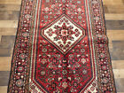 """3'5""""x6' Excellent Antique Authentic Fine Oriental hand made wool Area rug runner"""