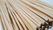 80 Bamboo Skewers 12 Inch Wood Sticks BBQ Shish Kabob