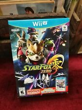 Star Fox Zero + Star Fox Guard - ⚡️ NEW AND SEALED Wii U 2016 WiiU 2x NINTENDO