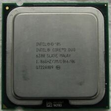 CPU Intel Dual Core DUO E6300 - SLA5E processore 2 FSB 1066mhz - 1.86ghz