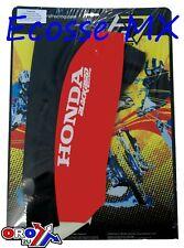 Honda CR250 1992-1996 CR125 1993-1997 Blackbird Grippy Seat Cover Black/Red