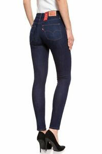 LEVI'S SLIMMING SKINNY DARK BLUE Jeans Women's, Authentic BRAND NEW (283990005)