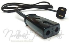 "Replacement 6ft Power Cord for Vtg Automatic Egg Cooker Poacher 1/2"" Space Model"