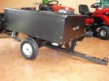 STEEL Ride On LAWN MOWER Tipper TRAILER  227kg BRAND NEW POWDER COATED