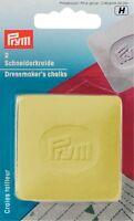 (1.75 EUR/St.) PRYM Schneiderkreide-Platten gelb/blau