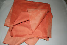 MICRO FIBER SYNTHETIC SUEDE FABRIC 1.40 CM X 90 CM ORANGE