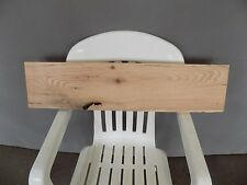 "31"" x 7"" RUSTIC Red Oak Board Slab Shelf Lumber Solid Wood Log"