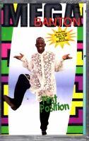 NEW Mega Banton First 1st Position 1993 Cassette Tape Album Rap Hiphop