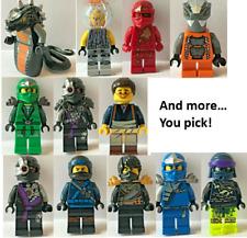 Lego Ninjago Minifigures YOU CHOOSE