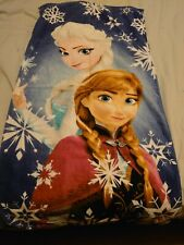 Anna And Elsa Frozen Towel