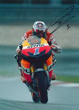 Casey Stoner Signed 8X12 Inches Repsol Honda Team MotoGP Photo