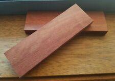 Australian Rosewood Exotic Hardwood Knife Handles Scales Block Blank