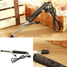 Women Stainless Steel Hair Curler Iron Curling Manual Electric Wave Curl M OBZ