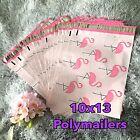 20 Pcs - Designer Printed Poly Mailers 10X13 Shipping Envelopes Bags FLAMINGO
