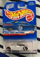 HOT WHEELS 1998 FIRST EDITIONS #14 Ford GT-90 MOC VHTF 3 spoke Collector #668