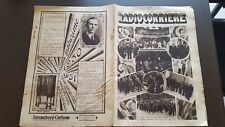 RADIOCORRIERE anno 6 n 39 1930 MARCONI - RADIOMARELLI - STROMBERG CARLSON 6/17