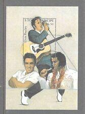 S.TOME E PRINCIPE Elvis Presley  used small mini sheet
