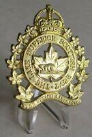 Canada Royal Canadian Forces  The Lake Superior Scottish Regiment Cap Badge WW2