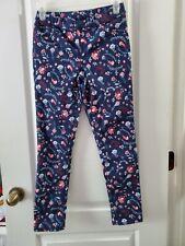 Jordache Girl's Jegging Floral Pants Sz L (10-12)