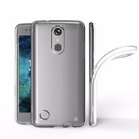 TPU Soft Transparent Clear Glossy Skin Gel Cover Case for LG Aristo LV3 MS210