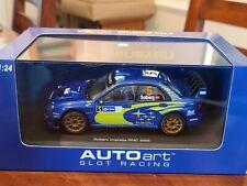 AutoArt SLOT Car 1:24 SUBARU Impreza WRC 2005 Mexico Lighting Lamps 14842 NEW